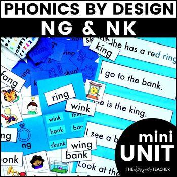 Phonics By Design NG & NK Mini-Unit