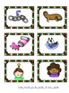 NG, NK Word Family Picture & Word Match Literacy Centers (Christmas themed)