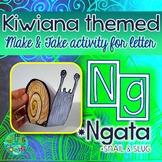 NG = Ngata (slugs & snails) {Kiwiana Themed 'Make & Take'