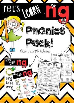 NG Phonics Pack - Lets Learn NG