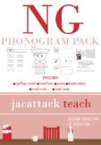 NG Phonogram Pack (Spalding Based)