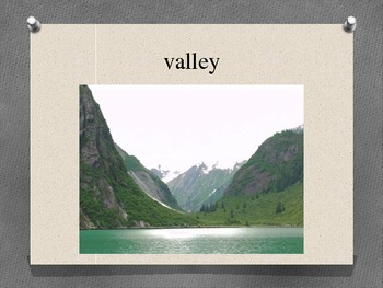 Landforms Vocaulary
