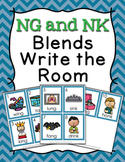 NG and NK Blends Write the Room Activity