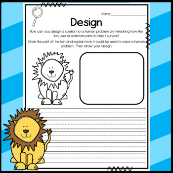 NGSS 1-LS1-1 Science Graphic Organizers