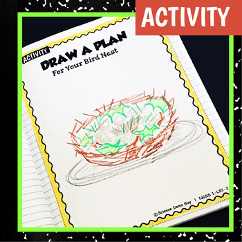NGSS 1-LS1-2 STEM Activity & Interactive Notebook Pages