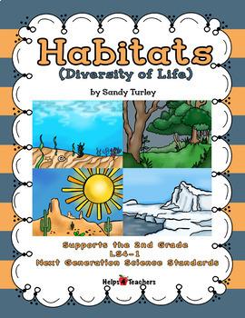NGSS 2nd Grade-LS4-1: Habitats: Diversity of Life