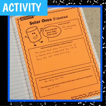 NGSS 2-PS1-4 STEM Activity & Interactive Notebook Pages