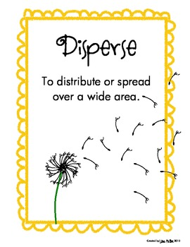 NGSS 2nd grade - Animals Disperse Seeds and Insects Pollinate Plants