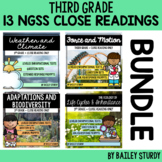 NGSS 3rd Grade Close Reading Bundle