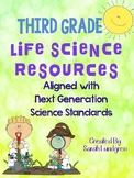 NGSS 3rd Grade Life Science Resources!