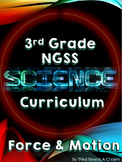 NGSS 3rd Grade Science Force and Motion