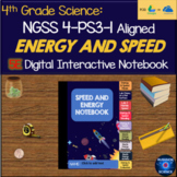 NGSS 4-PS3-1 Energy and Speed 5E Digital INB DISTANCE LEARNING