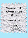 NGSS 4-PS4-1 4th Grade Waves Unit
