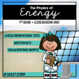 NGSS 4th Grade Energy Close Reading