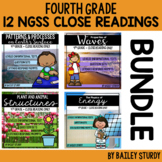 Distance Learning NGSS 4th Grade Close Reading BUNDLE