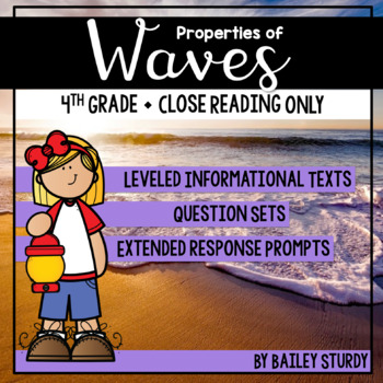 NGSS 4th Grade Waves Close Reading