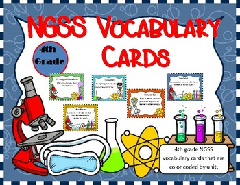 NGSS vocabulary