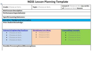 ngss 5 e interactive lesson plan template by steam power lessons. Black Bedroom Furniture Sets. Home Design Ideas