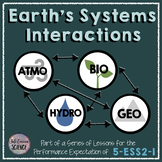 NGSS 5-ESS2-1 Earth's Systems Interactions 5th Grade