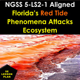 NGSS 5-LS2-1 Aligned – Florida's Red Tide Phenomena Attacks Ecosystem