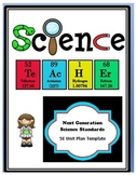 NGSS 5E Model Unit Plan Template