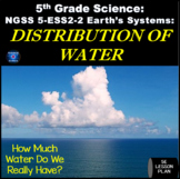 NGSS 5-ESS2-2 Distribution of Water 5th Grade