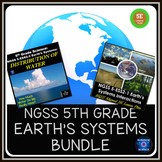 NGSS 5th Grade 5-ESS2-1, 5-ESS2-2 Earth's Systems Bundle