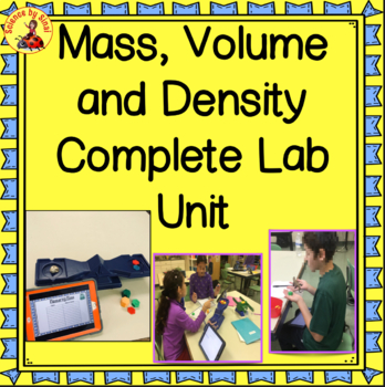 NGSS ALIGNED MSPS-1 Mass, Volume and Density Complete Unit Digital or Printed