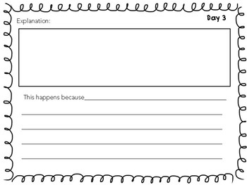 NGSS ALIGNED Student Science Notebook-FREE MATTER experiment scenarios!