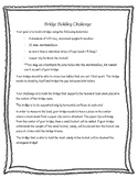 NGSS Aligned Bridge Building Project Freebie Grades 3-5 (E