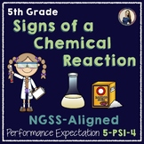 NGSS Aligned Chemical Reactions Lab 5-PS1-4