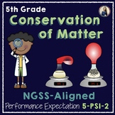 NGSS Aligned Conservation of Matter Lab (5-PS1-2)