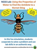 Properties of Water Inquiry Lab: Find the Antidote to a Wasp Sting -  NGSS