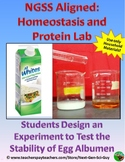 Proteins and Homeostasis: Designing an Experiment -  NGSS