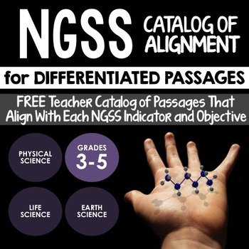 NGSS Aligned Resources: FREE Catalog