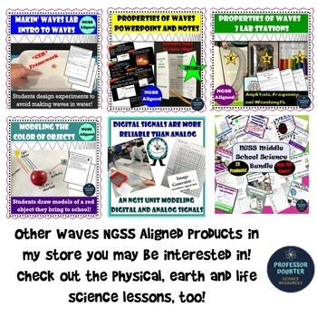 NGSS Assessment Tasks and Test Questions MS-PS1-2 Chemical Reactions