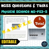 NGSS Assessment Tasks and Test Questions MS-PS3-5 Arguing Kinetic Energy Changes
