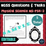 NGSS Assessment Tasks and Test Questions MS-PS4-2 Waves Reflect Absorb Transmit