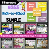 NGSS Back to School Science Bundle of STEM Activities and