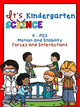 NGSS Binder Covers for Organizing Your Kindergarten Units or Activities