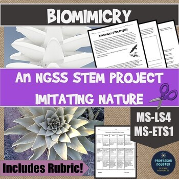 NGSS Biomimicry: Designing Technologies From Adaptations MS-LS4 MS-ETS1