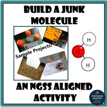 NGSS Develop a Model Molecule Middle School Project (Includes Rubric!) MS-PS1-1