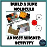 Distance Learning Science Molecule Compound Model STEM Project NGSS MS-PS1-1