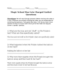 NGSS& C.C. EDITABLE Magic School Bus Gets Charged Guided Questions Sheet