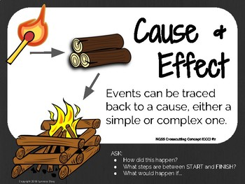 NGSS CCC #2 Poster: Cause & Effect