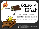 FREE Cause & Effect Science Poster (NGSS CCC#2)