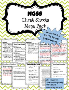 NGSS Cheat Sheet Mega Pack