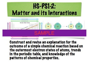 NGSS Chemistry Mastery Tickets!