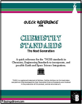 Ngss Chemistry Worksheets & Teaching Resources | TpT