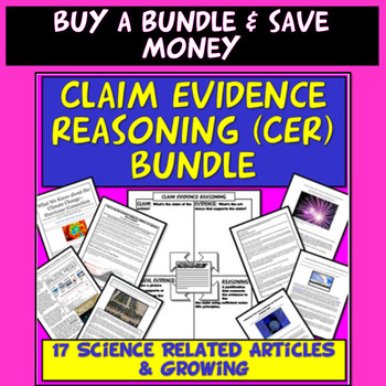NGSS Claim Evidence Reasoning (CER) Oldest Evidence of Life on Land Found
